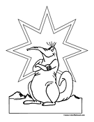 Aardvark Coloring Page 4