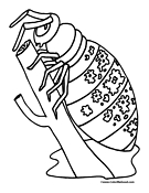 Beetle Coloring Page 3
