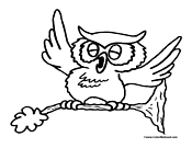 Bird Coloring Page 7