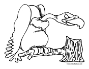 Bird Coloring Page 11