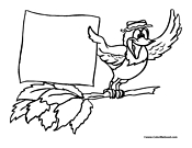 Bird Coloring Page 14