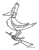 Bird Coloring Page 17