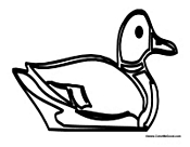 Duck Outline