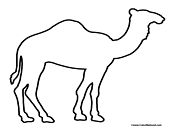 Camel Coloring Page 5