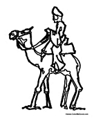 Man on Camel 4