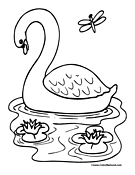 Dragonfly Coloring Page 3
