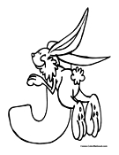 Jack rabbit coloring pages for Jack rabbit coloring page