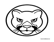 Leopard Coloring Page 2