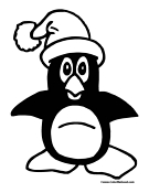 Penguin Coloring Page 3
