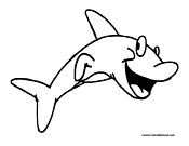 Shark Coloring Page 10