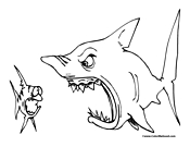 Shark Coloring Page 13
