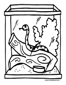 Snake Coloring Page 6