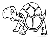 Turtle Coloring Page 6