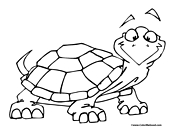 Turtle Coloring Page 12