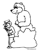 zookeeper coloring pages - photo#12