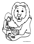 zookeeper coloring pages - photo#13
