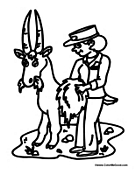 zookeeper coloring pages - photo#10
