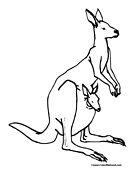 Australia Coloring Page 1