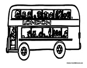London Shuttle Bus
