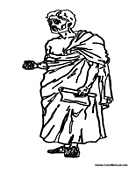 Greece Coloring Pages Greek Coloring
