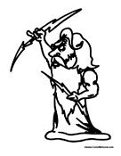 Free greek mythology coloring pages for Zeus coloring page