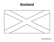 Scotland Coloring Pages Scottish