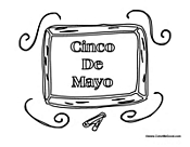 Mexico Cinco do Mayo Sign