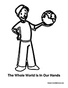 Boy with World in His Hand