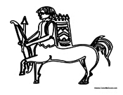 Centaur with Arrows