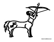 Centaur Shooting Arrow