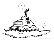 Robot Lawnmower Coloring