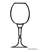 Glass Cup Coloring Page Free coloring pages of...