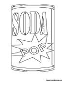 soda pop can