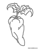 herb coloring pages - herbs and spices printable coloring pages