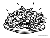 seafood coloring pages - photo#14