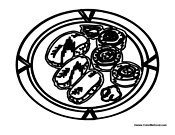 seafood coloring pages - photo#28
