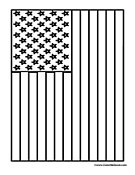 Vertical Hanging Flag