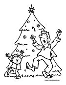 Dancing Christmas Tree