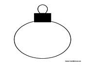 Blank Christmas Ornament