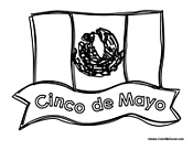 Cinco de Mayo Flag