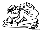 Park ranger coloring pages ~ Earth Day People Coloring Pages
