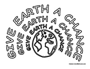 Give Earth a Chance Poster