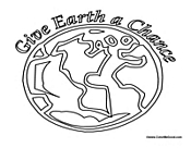 Give Earth a Chance Globe