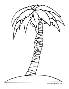 Tree Coloring Page 10