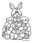 Easter Coloring Page 2