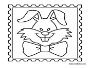 Easter Bunny Stamp
