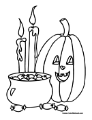 Pumpkin Coloring Page 14