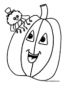 Pumpkin Coloring Page 18