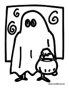 Trick or Treat Ghost Costume
