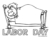 celebrate labor day coloring